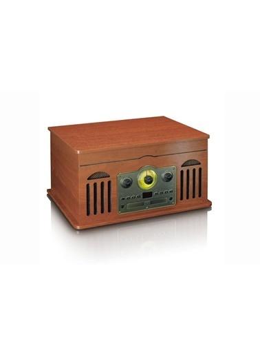 Lenco TCD-2600 Ahşap Bluetoothlu Retro Pikap USB CD Radyo Kaset Plak Çalar Renkli